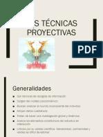 Las técnicas proyectivas