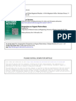 Perspectives on Organic Photovoltaics