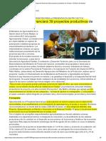 R_Agroemprende financiará 39 proyectos productivos de Chubut – El Diario de Madryn