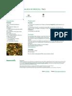 Ensalada de brocoli - imagen principal - Consejos - Fotos de pasos - comentario - 2016-05-10