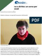 Coronavirus e Diritto_ Un Corso Per Ingegneri Gestionali
