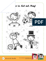 I Can Dance I Can Play Activity Sheet