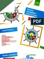 Modelo pedagógico institucional presentación