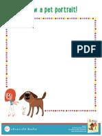 Barkus Activity Sheet