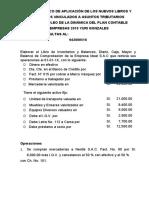 CASO PRÁCTICO DE APLICACIÓN DE LOS NUEVOS LIBROS Y