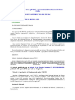 Decreto Supremo 007-2008-VIVIENDA - Reglamento de La Ley General Del Sistema Nacional de Bienes Estatales