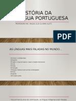A história da Língua portuguesa