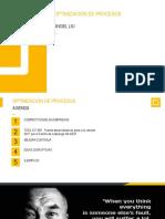 _PPT Optimización de procesos