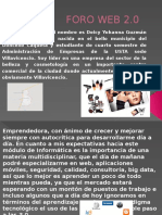 FORO WEB 2