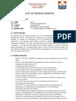 PLAN DE TRABAJO REMOTO-MONGUETE