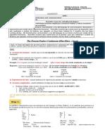 2dos medios - Apunte y guía -  Present perfect continuous (1).doc