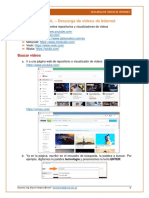 TUTORIAL - Descargar de videos de Internet.pdf