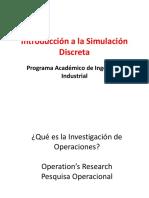 Introducción a la Simulación Discreta (IO2)