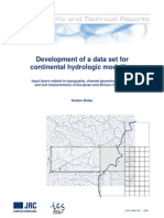 Development of a Data Set for Continental Hydro Logic Modelling