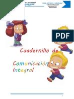 Cuadernillo de comunicacion