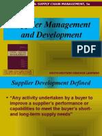 Supplier Development strategies