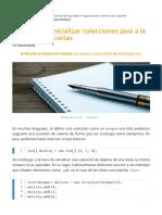 3 Formas de Inicializar Colecciones Java a La Hora de Declararlas _ CampusMVP.es