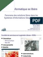 La géoinformatique se libère - Panorama des solutions libres dans les Systèmes d'Informations Géographiques