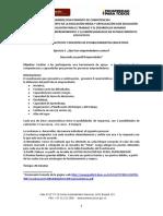 EJERCICIO  1 CUESTIONARIO PERFIL EMPRENDEDOR