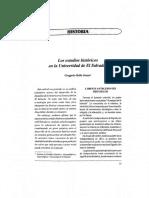 G.Bello Suazo Estudios  en la universidad de ES núm. 3 (1996)