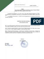 Programa scolara Romania in Primul Razboi Mondial - cds liceu