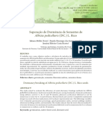 2015 [Artigo] Freire et al. Superação de dormência de sementes de albizia pedicellaris