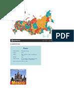 La Capital de Rusia