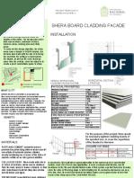 shera board cladding facade
