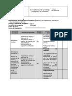Cronograma Evaluacion de Competencia Laboral