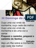 3º Domingo do Advento - Ano A