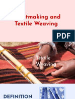 Print Making and Textile Weaving