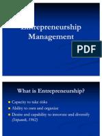 Entrepreneurship Management Kiran