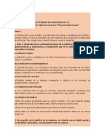 """Evidencia 6 Ejercicio práctico """"Empresa San Lucas"""