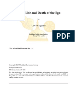 Birth, Life and Death of the Ego