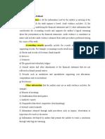 summary ch 6 (audit evidence)