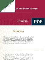 Consejo de Salubridad General, 30mar20