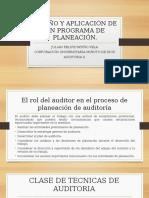 DISEÑO Y APLICACIÓN DE UN PROGRAMA DE PLANEACIÓN