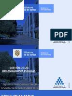 TED- GESTIÓN DE LAS ORGANIZACIONES PUBLICAS