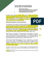 1. Derechos del niño y políticas públicas Ernesto Durán