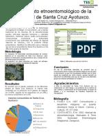Conocimiento etnoentomológico de la comunidad de Santa Cruz