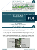 Site Planning _Lecture 03