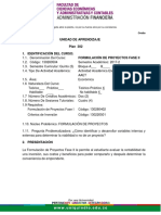 FORMULACION  FASE ll 2017-2