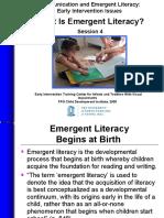 Nota Minggu 10 - What is emergent literacy.ppt