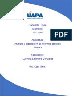 tarea 4 analisis y elaboracion de informes