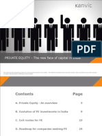 PRIVATE EQUITY - The new face of capital in India