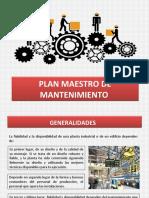 8.PLAN MAESTRO DE MANTENIMIENTO