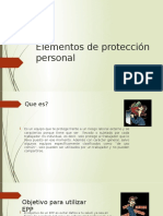 EPP y plan de emergencias