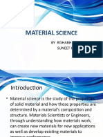 MATERIAL SCIENCE ppt