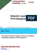 ipV4 DATA GRAM