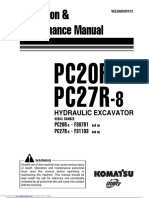Komatsu PC27R-8 Service Manual